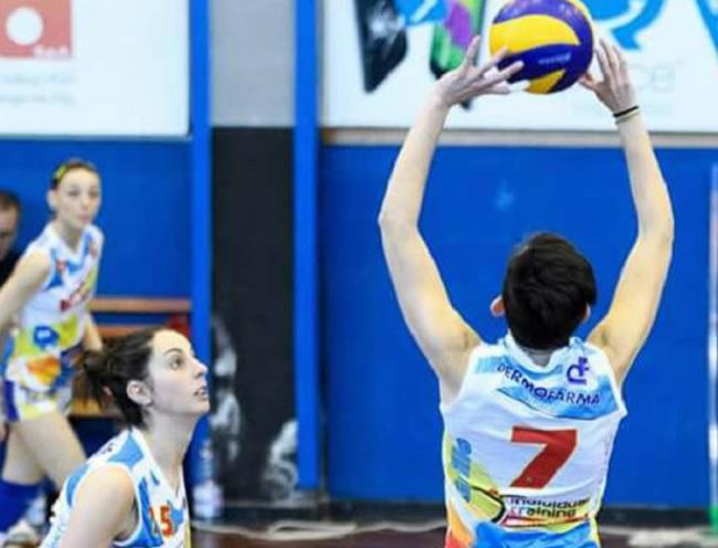 Raffaela Grillo e l'Accademia Volley ancora insieme
