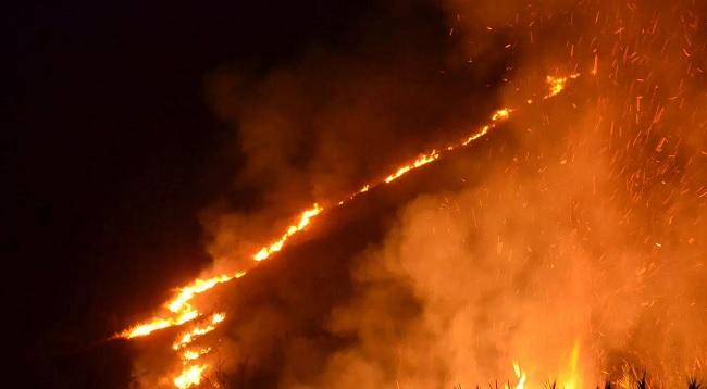 """Tommaselli sindaco di Foglianise: """"L'incendio di  Monte Caruso è una ferita per la comunità"""""""