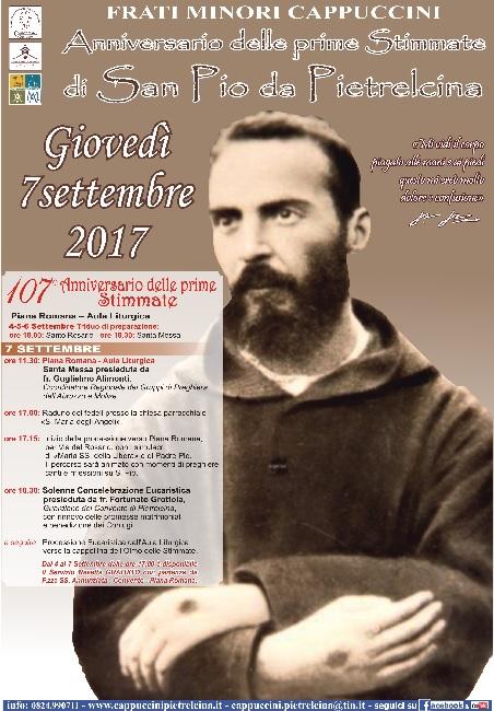 Prime stimmate di Padre Pio: quest'anno il 107° Anniversario