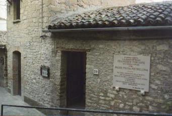 """Pietrelcina. """"Casa natale di Padre Pio"""" : inserita tra i percorsi dell'anima"""