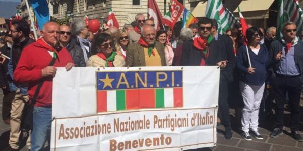 Da mercoledì 24 a venerdì 26 aprile le iniziative dell'ANPI Benevento per la Festa della Liberazione.