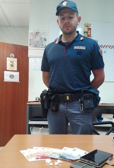"""Benevento:"""" Ritorna a spacciare, arrestato dalla Polizia """""""