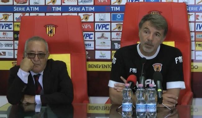 Benevento Calcio. Con la Fiorentina speriamo in un aiuto divino!