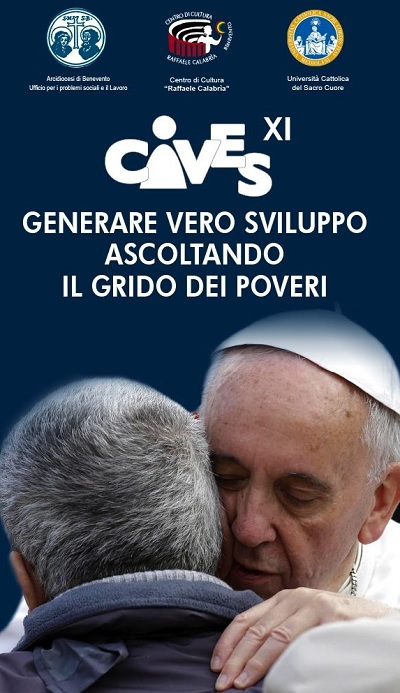 CIVES: Prolusione con l'Arcivescovo Accrocca e il Presidente Nazionale delle Acli Rossini