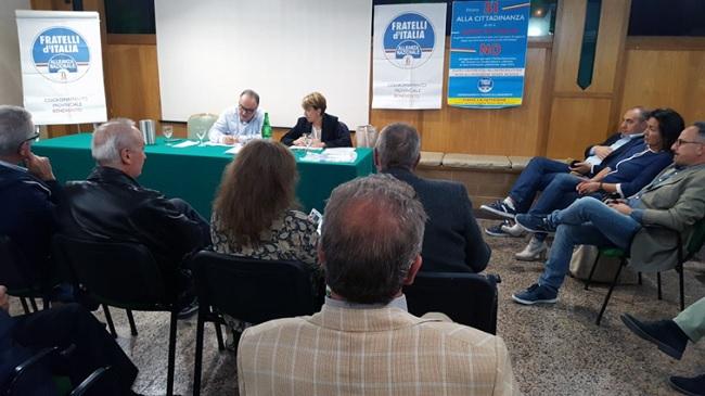 I delegati al Congresso Nazionale di Fratelli d'Italia Alleanza Nazionale