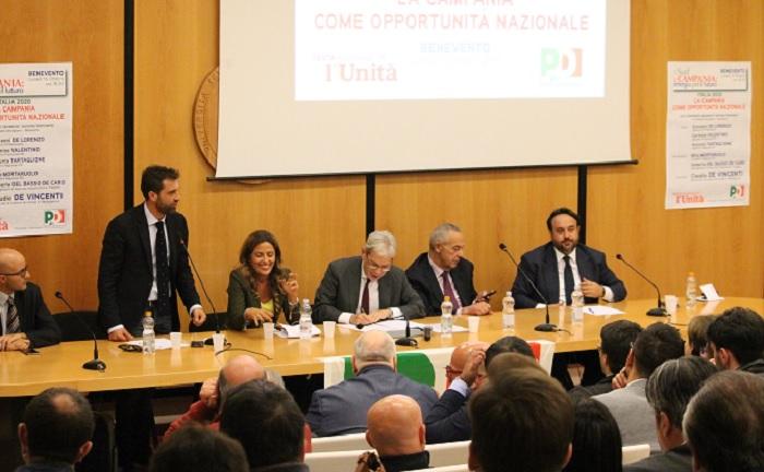 Festa dell'Unità in Campania: il Ministro De Vincenti nel Sannio