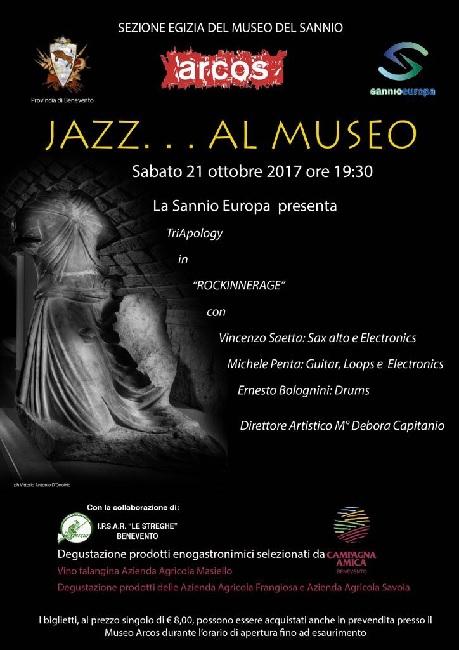 Benevento. Jazz al Museo Arcos sabato 21 Ottobre