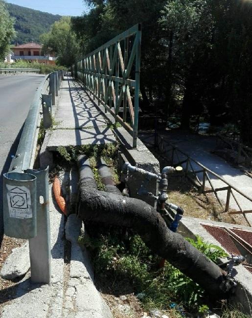 """Telese Terme. Nacar : """" Amministrazione intervenga su ponte Corso Trieste- Via Lagni"""