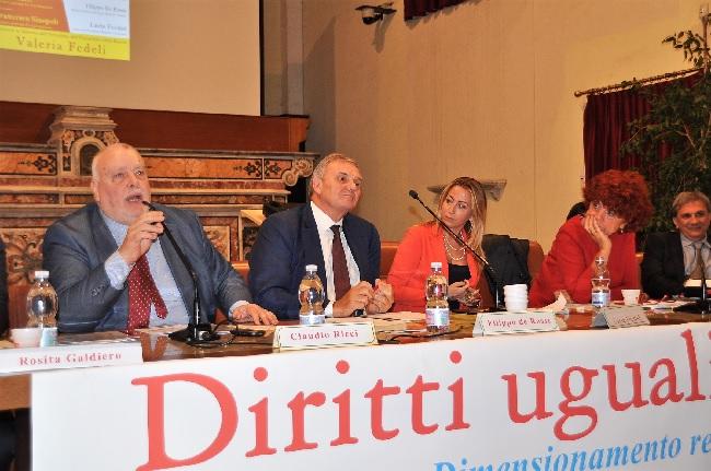 """Convegno con il Ministro Fedeli. Ricci : """"E' impensabile togliere risorse alla Scuola e alla Sanità"""""""