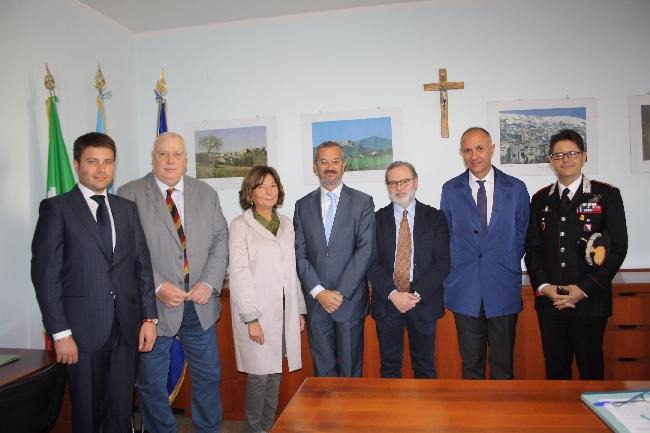 L'utilizzo di una parte della Caserna Guidoni il tema dei lavori  di un incontro Provincia-Tribunale-Procura