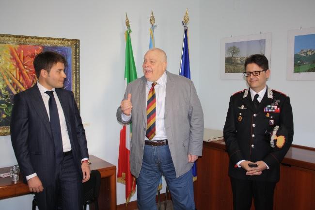 Incontro Provincia-Carabinieri sugli atti di vandalismo ai beni della Provincia