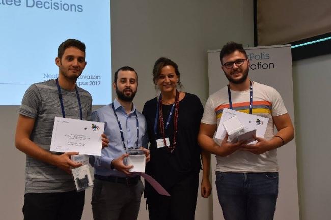 Gli studenti Unisannio si distinguono al Neapolis Innovation Summer Campus 2017
