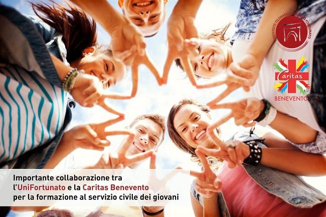 Formazione servizio civile dei giovani. Accordo Unifortunato – Caritas