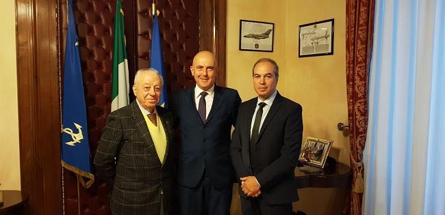 ANPCI, Manera e Spina hanno incontrato il sottosegretario alla Difesa, Gioacchino Alfano