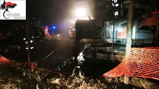 Benevento episodi incendiari: scoperta e arrestata dai Carabinieri una Banda di Taglieggiatori