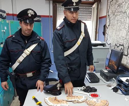 Benevento: in possesso di 10mila Euro in banconote false.Arrestato dai Carabinieri