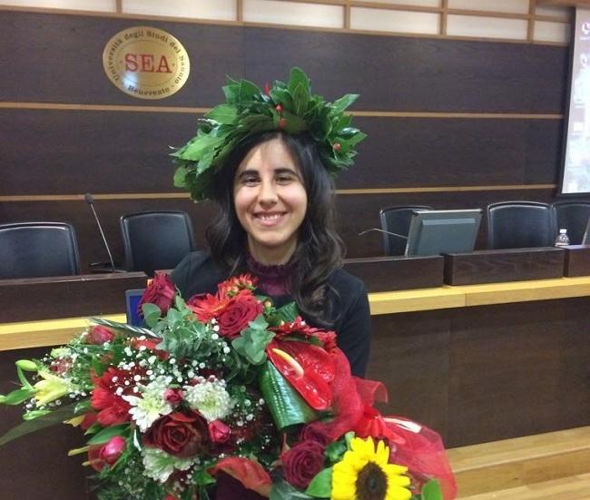 Natalia Borrillo ha conseguito la laurea magistrale in Scienze Statistiche ed Attuariali con 110 e lode