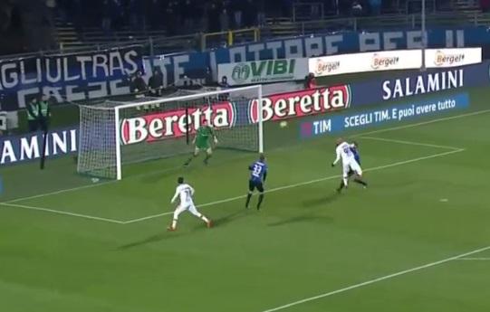 Il Benevento spreca un'altra occasione. Atalanta 1 Benevento 0