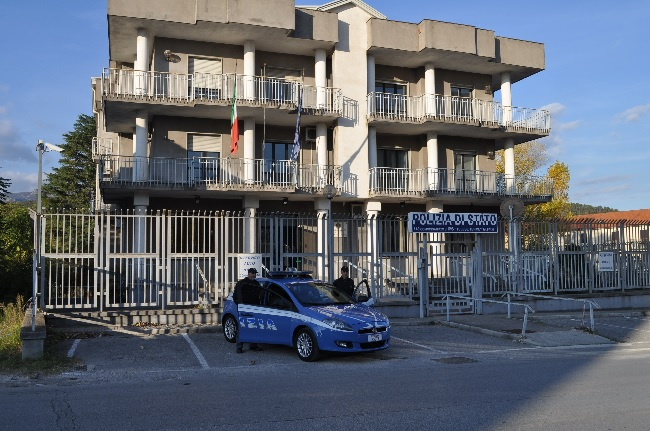 Telese Terme, la Polizia di Stato sanziona un parcheggiatore abusivo