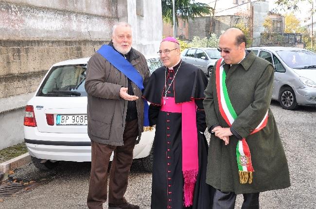 San Nicola Manfredi. Intitolata a Pino Puglisi una piazza di Monterocchetta