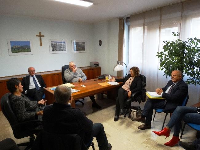 """Ricci sulla diga di Campolattaro : """" Rispetteremo il crono-programma per mettere in esercizio dopo 40 anni una grande opera pubblica"""""""