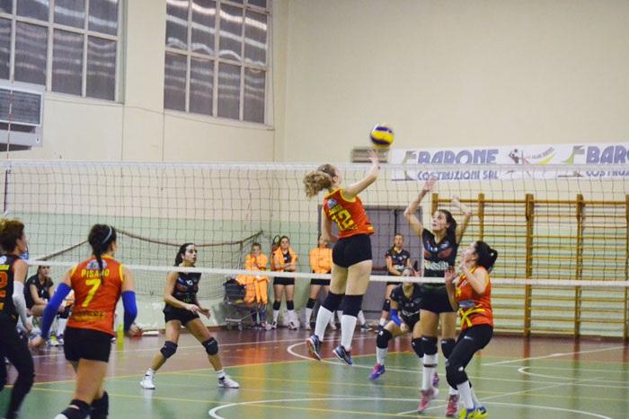 Niente da fare per la Volare Benevento che perde lo scontro diretto con il Pastena Volley