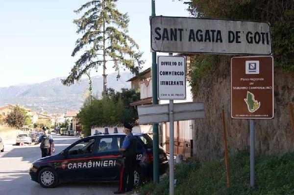 Sant'Agata de' Goti. Contrasto ai furti, i Carabinieri denunciano due persone