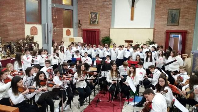 Concerti di Natale: grande successo per gli alunni dell'Istituto Comprensivo di Ponte