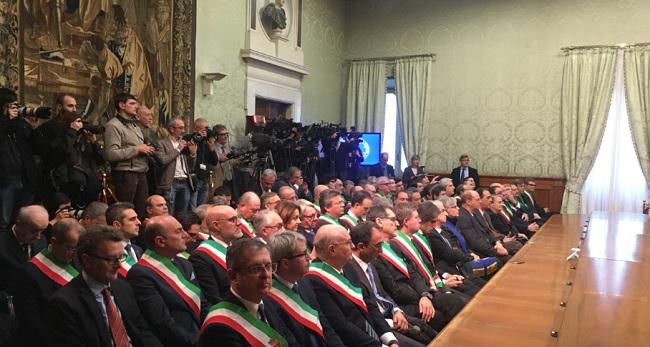 Piano Periferie, sottoscritta a Palazzo Chigi la convenzione tra Governo e Comune