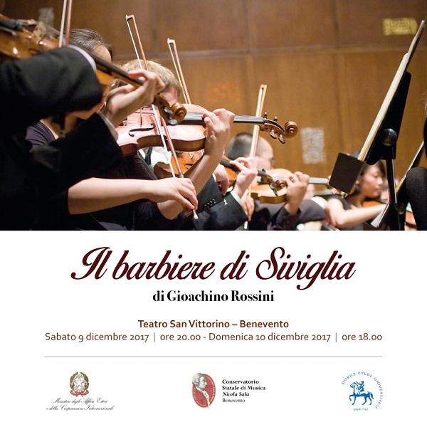 """Conservatorio di Musica """"Nicola Sala"""" di Benevento: Musicisti Ambasciatori di Pace in Italia e Turchia"""