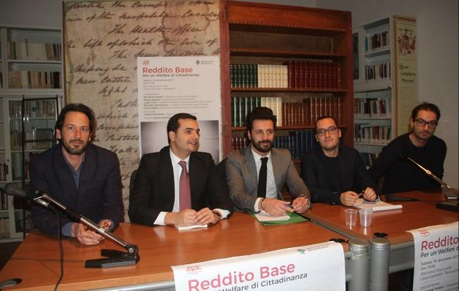 """""""Reddito Base"""", dopo Benevento il libro di Pisaniello approderà a Napoli."""