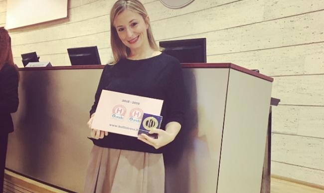 La Gepos di Telese Terme premiata a Roma  per l'impegno a favore della salute della donna