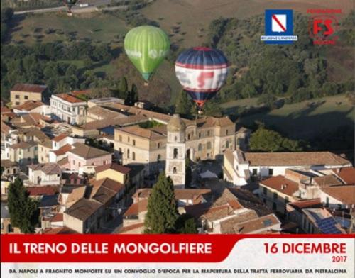 Grande attesa per l'inaugurazione del tratto ferroviario: Pietrelcina –Fragneto Monforte
