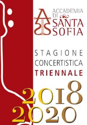 """Accademia di Santa Sofia: conferenza stampa di presentazione della """"Stagione Concertistica 2018-2020"""""""