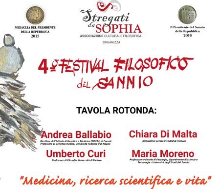 Stregati da Sophia: il 7 Febbraio il secondo appuntamento del 4° Festival Filosofico del Sannio