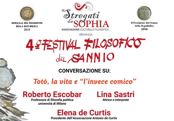 Stregati da Sophia: il 6 Febbraio il primo appuntamento del 4° Festival Filosofico del Sannio