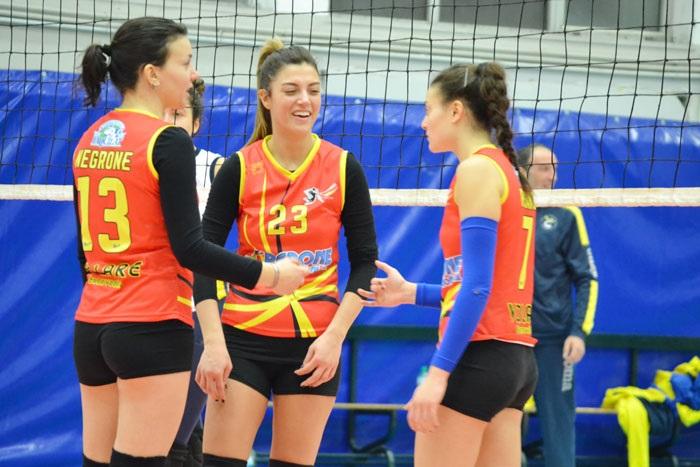 La Volare Benevento cede al Volley Project Pontecagnano