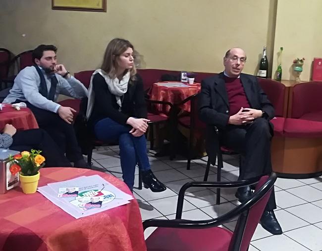 Fernando Errico, in stile Berlusconiano, firma un patto con i giovani sanniti