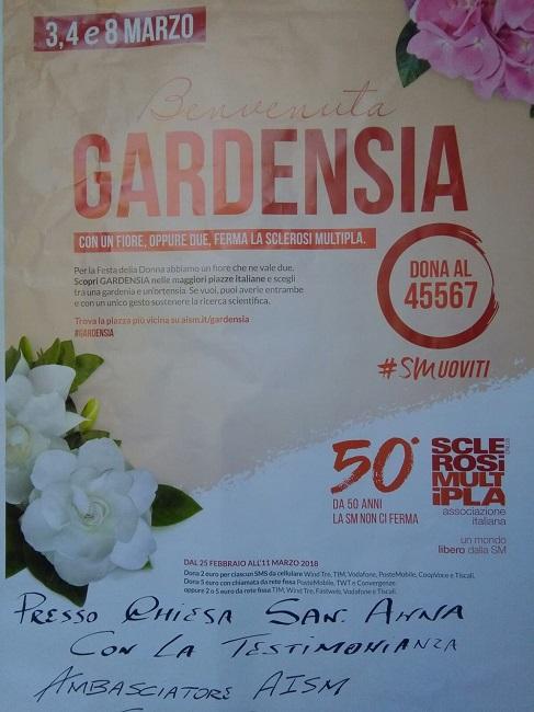 Scendi in campo con me con un fiore: ferma la Sclerosi Multipla