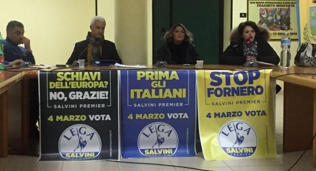 Lega Salvini Premier nel Sannio: il 4 Marzo Unica Possibilità per Cambiare.