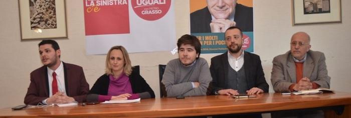 Elezioni Politiche 2018: Appuntamenti Candidati Liberi e Uguali