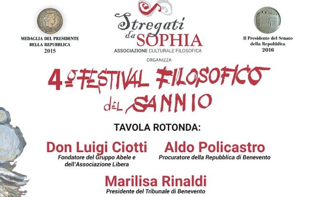 Stregati da Sophia: il 16 Febbraio il terzo appuntamento del 4° Festival Filosofico del Sannio