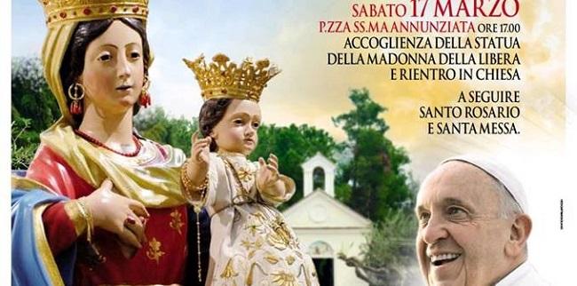 Papa Francesco a Pietrelcina. L'inizio dei sette giorni di preparazione