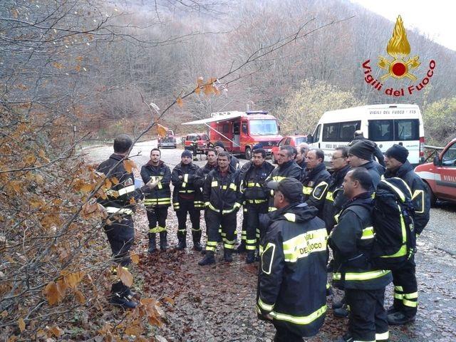 Al Comando dei Vigili del Fuoco di Benevento il Corso Tas