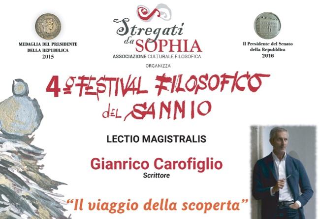""""""" Stregati da Sophia"""": settimo appuntamento del 4° Festival Filosofico del Sannio il 7 Marzo"""
