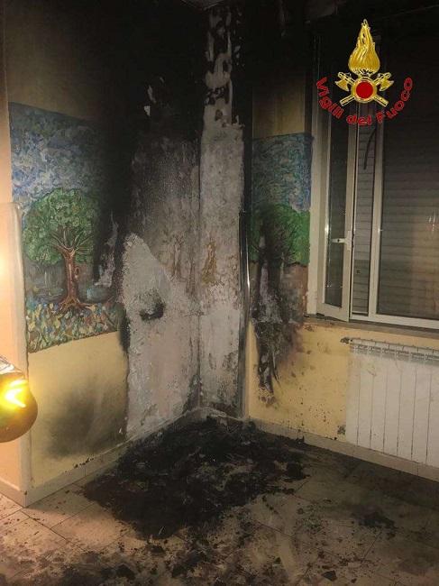 """Ancora un incendio all'Azienda Ospedaliera """"G. Rummo"""""""