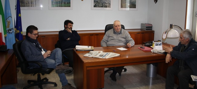 """Claudio Ricci incontra il """"Comitato Viabilità Negatadi Montefalcone Valfortore"""""""