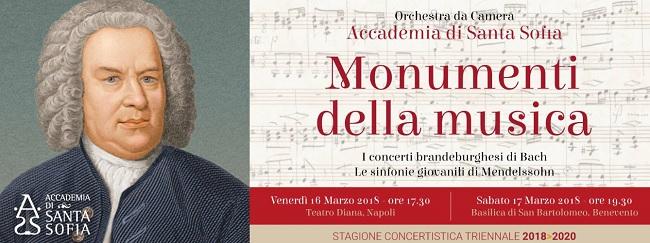 """Accademia di Santa Sofia, la terza serata proporrà """"Monumenti della Musica"""""""