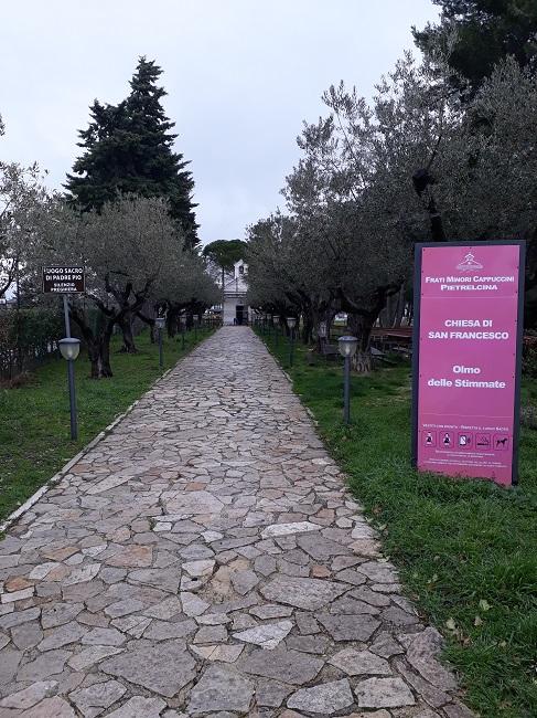 Pietrelcina. Fondi regionali per la via Crucis e per l'Oratorio