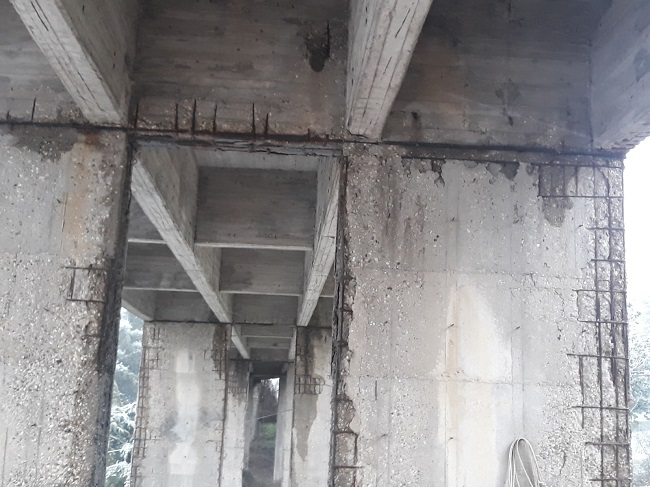"""Intervento de""""La Voce del Fortore"""" sullo stato del ponte sulla variante di San Bartolomeo"""
